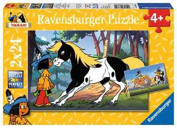 08869 Kinderpuzzle Yakari und kleiner Donner von Ravensburger 1