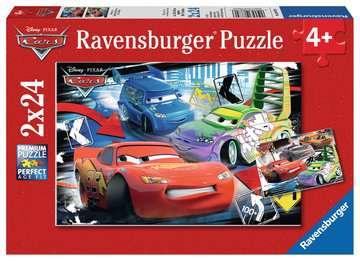 DI:  CARS 2X24P Puzzle;Puzzle dla dzieci - Zdjęcie 1 - Ravensburger