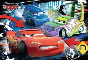 DI:  CARS 2X24P Puzzle;Puzzle dla dzieci - Zdjęcie 2 - Ravensburger
