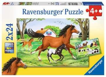 World of Horses Puslespil;Puslespil for børn - Billede 1 - Ravensburger