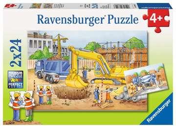 Vorsicht, Baustelle! Puzzle;Kinderpuzzle - Bild 1 - Ravensburger