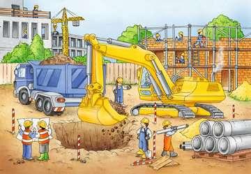 Baustelle zeichnung  Vorsicht, Baustelle! | Kinderpuzzle | Puzzle | Produkte | Vorsicht ...