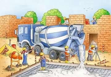 Vorsicht, Baustelle! Puzzle;Kinderpuzzle - Bild 3 - Ravensburger