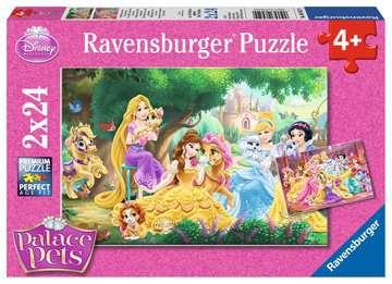 DI: PRZYJACIELE KSIĘŻNICZEK 2X24 Puzzle;Puzzle dla dzieci - Zdjęcie 1 - Ravensburger
