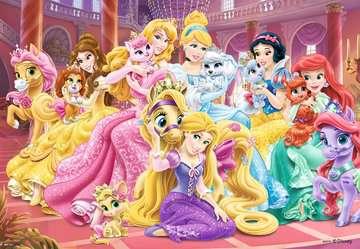 08952 Kinderpuzzle Beste Freunde der Prinzessinnen von Ravensburger 3