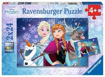 09074 Kinderpuzzle Frozen - Nordlichter von Ravensburger 1