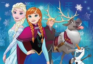 09074 Kinderpuzzle Frozen - Nordlichter von Ravensburger 2