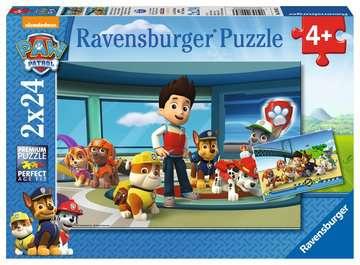 Tlapková patrola: Dobrý skutek 2x24 dílků 2D Puzzle;Dětské puzzle - image 1 - Ravensburger