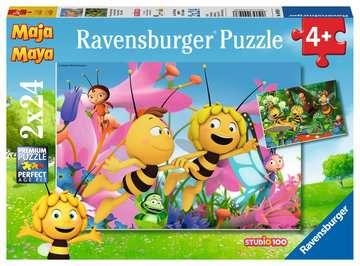 09093 Kinderpuzzle Die kleine Biene Maja von Ravensburger 1