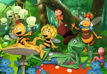 09093 Kinderpuzzle Die kleine Biene Maja von Ravensburger 3