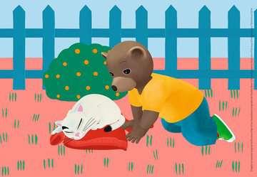 Puzzles 2x24 p - Petit Ours Brun à la maison Puzzle;Puzzle enfant - Image 2 - Ravensburger