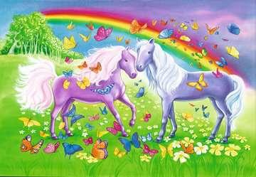 Rainbow Horses Jigsaw Puzzles;Children s Puzzles - image 2 - Ravensburger