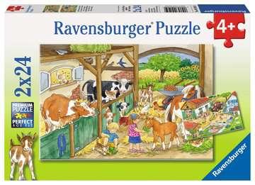 Fröhliches Landleben Puzzle;Kinderpuzzle - Bild 1 - Ravensburger