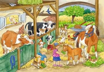 Puzzles 2x24 p - Le bonheur à la ferme Puzzle;Puzzle enfant - Image 2 - Ravensburger