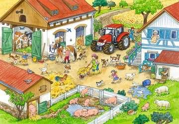 Puzzles 2x24 p - Le bonheur à la ferme Puzzle;Puzzle enfant - Image 3 - Ravensburger