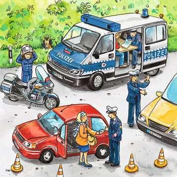 09221 Kinderpuzzle Polizeieinsatz von Ravensburger 2