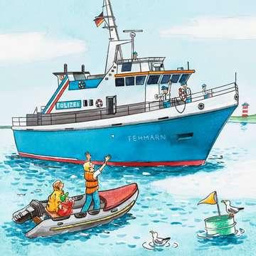 09221 Kinderpuzzle Polizeieinsatz von Ravensburger 4