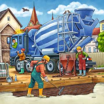 Large Construction Vehicles Jigsaw Puzzles;Children s Puzzles - image 2 - Ravensburger