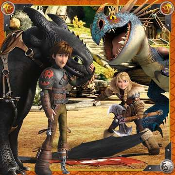 How to Train your Dragon 3x49pc Puzzles;Children s Puzzles - image 2 - Ravensburger