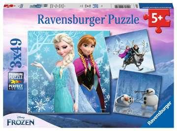 09264 Kinderpuzzle Abenteuer im Winterland von Ravensburger 1