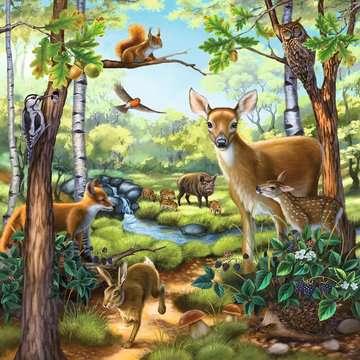 09265 Kinderpuzzle Wald-/Zoo-/Haustiere von Ravensburger 3