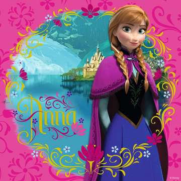 Puzzles 3x49 p - Elsa, Anna & Olaf / Disney La Reine des Neiges Puzzle;Puzzle enfant - Image 4 - Ravensburger