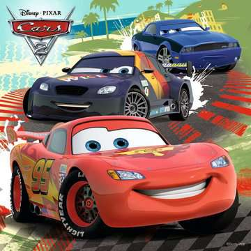 Disney Cars: Worldwide Racing Fun Jigsaw Puzzles;Children s Puzzles - image 2 - Ravensburger