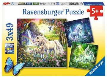 09291 Kinderpuzzle Schöne Einhörner von Ravensburger 1