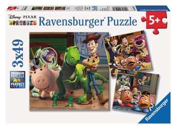 Disney Pixar Collection: Woody & Rex Jigsaw Puzzles;Children s Puzzles - image 1 - Ravensburger