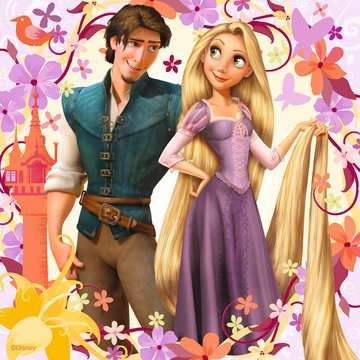 09298 Kinderpuzzle Rapunzel von Ravensburger 2