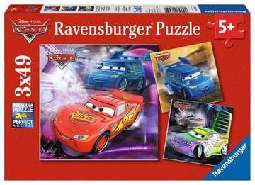 09305 Kinderpuzzle Auf der Rennstrecke von Ravensburger 1