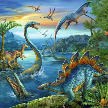 Dinosaur Fascination Jigsaw Puzzles;Children s Puzzles - image 2 - Ravensburger