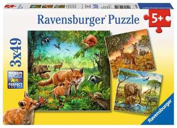 Tiere der Erde Puzzle;Kinderpuzzle - Bild 1 - Ravensburger