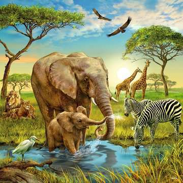 09330 Kinderpuzzle Tiere der Erde von Ravensburger 4