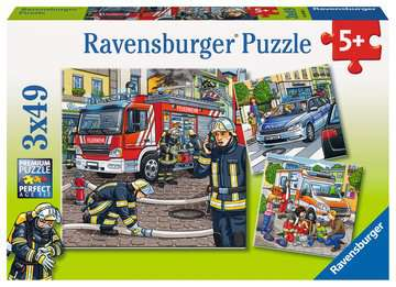 09335 Kinderpuzzle Helfer in der Not von Ravensburger 1
