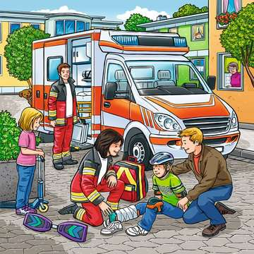 09335 Kinderpuzzle Helfer in der Not von Ravensburger 4