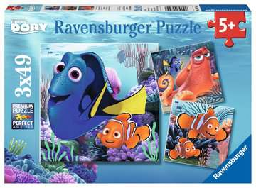 09345 Kinderpuzzle Findet Dory von Ravensburger 1