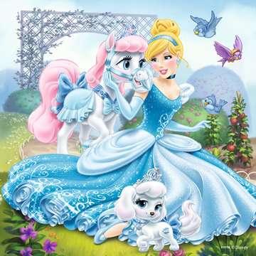 Belle, Cinderella and Rapunzel Puslespil;Puslespil for børn - Billede 2 - Ravensburger