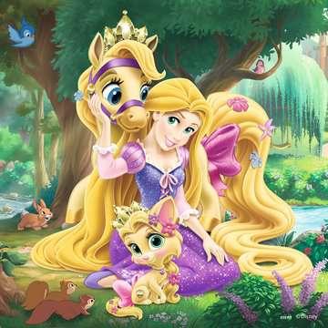 Belle, Cinderella and Rapunzel Puslespil;Puslespil for børn - Billede 3 - Ravensburger