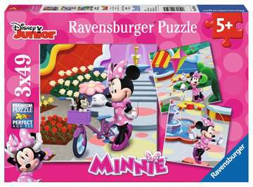 Beautiful Minnie Mouse Jigsaw Puzzles;Children s Puzzles - image 1 - Ravensburger