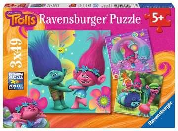 Trollové 3 x 49 dílků II 2D Puzzle;Dětské puzzle - image 1 - Ravensburger