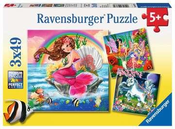 Fantasy Friends Jigsaw Puzzles;Children s Puzzles - image 1 - Ravensburger