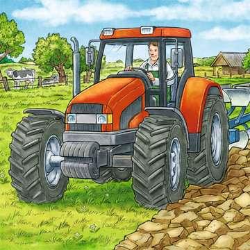 MASZYNY NA FARMIE 3X49 Puzzle;Puzzle dla dzieci - Zdjęcie 2 - Ravensburger