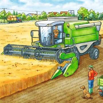 MASZYNY NA FARMIE 3X49 Puzzle;Puzzle dla dzieci - Zdjęcie 4 - Ravensburger