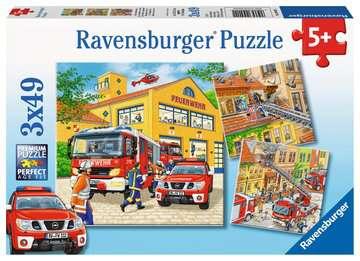 09401 Kinderpuzzle Feuerwehreinsatz von Ravensburger 1