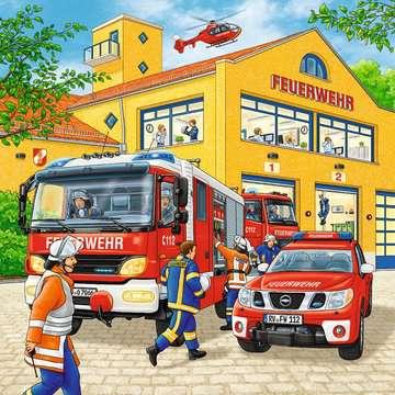 09401 Kinderpuzzle Feuerwehreinsatz von Ravensburger 2