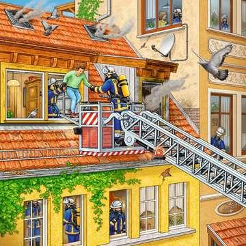 09401 Kinderpuzzle Feuerwehreinsatz von Ravensburger 3