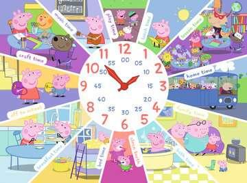 Peppa Pig Clock Puzzle, 60pc Puzzles;Children s Puzzles - image 2 - Ravensburger