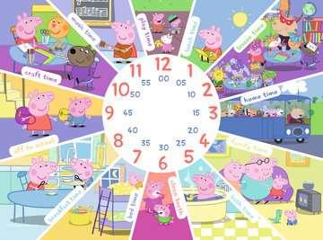 Peppa Pig Clock Puzzle, 60pc Puzzles;Children s Puzzles - image 3 - Ravensburger