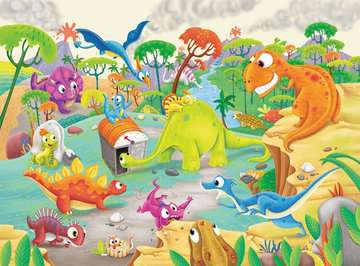 Time Traveling Dinos Jigsaw Puzzles;Children s Puzzles - image 2 - Ravensburger